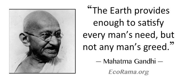 Gandhian Sustainability & Environmentalism