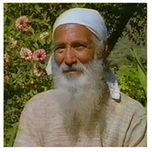 Environmentalist Sunderlal Bahuguna of Chipko Andolan